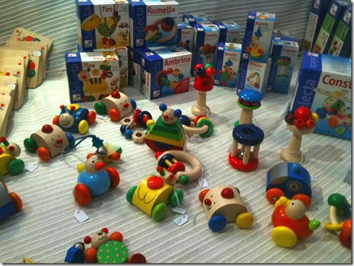 jardin de naissance - jouets en bois