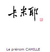 prénom Chinois