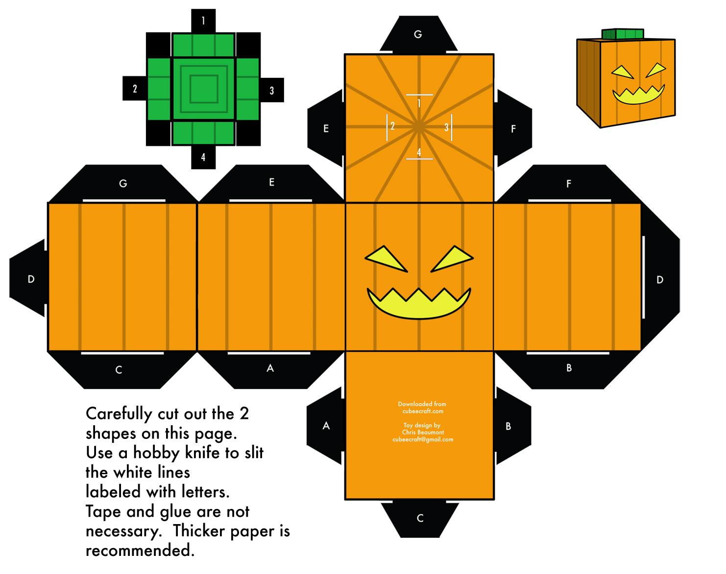 Une Activité Enfants Originale Pour Halloween Les Papers Toys