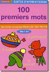 Carte d'apprentissage Chantecler - 100 premiers mots