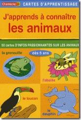 j-apprends-a-connaitre-les-animaux-des-5-ans-cartes-d-apprentissage-chantecler