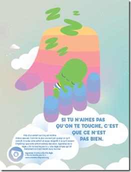protéger enfant abus sexuel - Affiche 3