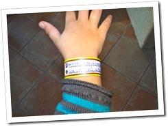 produits innovants pour parents - bracelet foule 2