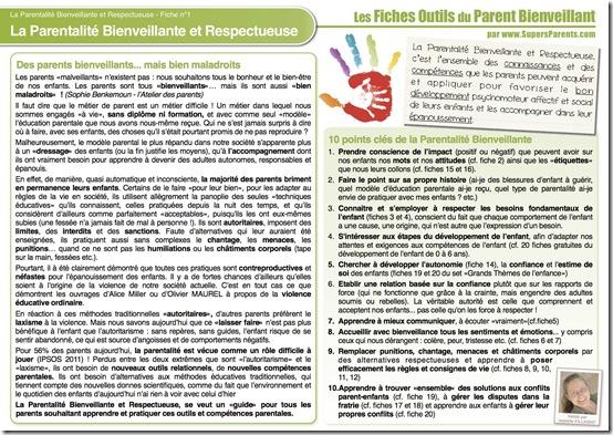 FO PB 1 - La parentalité Bienveillante et Respectueuse