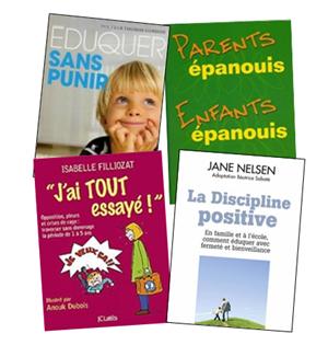 Livres parentalité bienveillante et positive