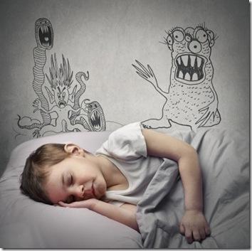 peurs monstres nuit enfant