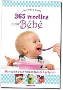 365 recettes pour bebe