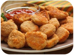 recette saine - nuggets poulet