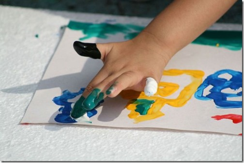 activités créatives peinture