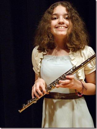 Jeune flûtiste