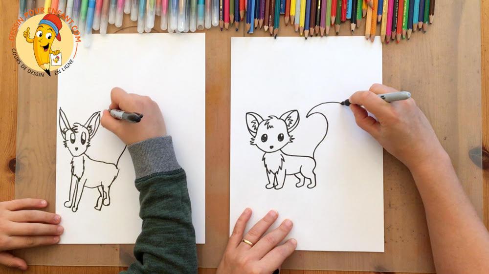 resserrer les liens parent-enfant par le dessin
