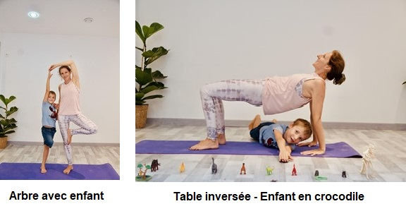 Réduire le stress chez l'enfant par le yoga - Arbre
