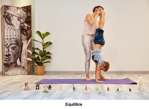 Réduire le stress chez l'enfant par le yoga - Equilibre